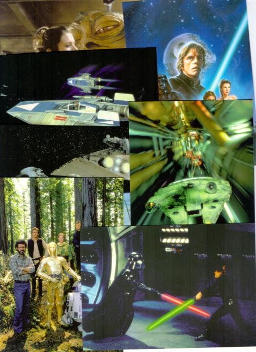 15 STAR WARS Return Of The Jedi - Motiv-Postkarten