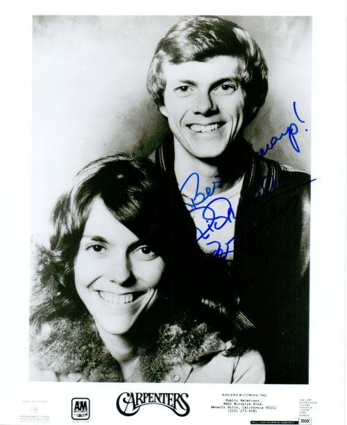 Richard Carpenter Autogramm