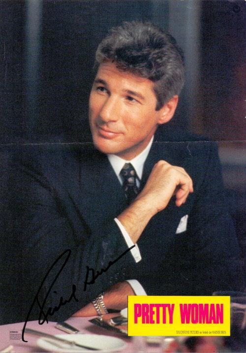 Richard Gere - Autogramm