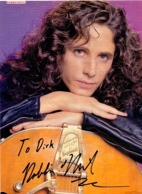 Robbie Nevil Autogramm