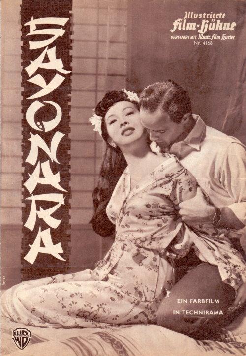 Sayonara - Filmprogramm