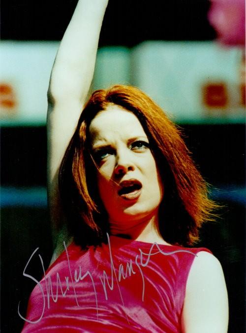 Shirley Manson Autogramm