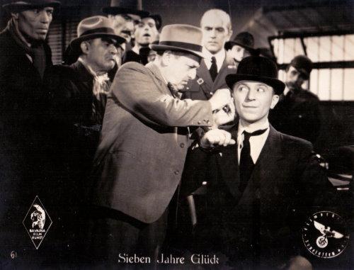 Hans Moser - Kino-Aushangfoto Sieben Jahre Glück