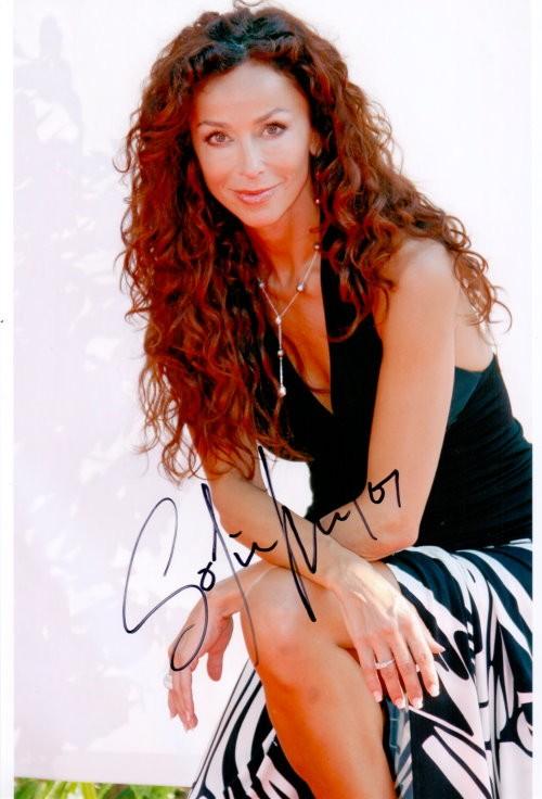 Sofia Milos Autogramm
