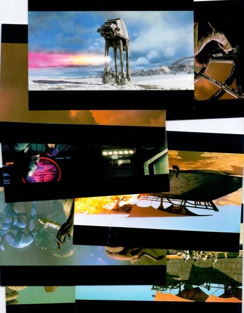 15 STAR WARS Special Edition - Motiv-Postkarten