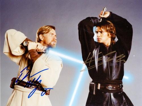 Star Wars Autogramm