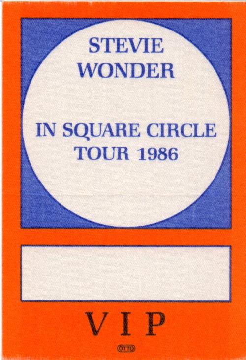 Stevie Wonder - VIP-Tourpass