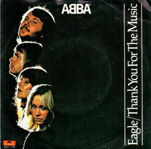 ABBA - Eagle Vinyl-Single
