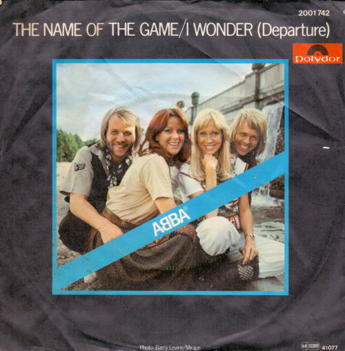 ABBA - The Name Of The Game Vinyl-Single