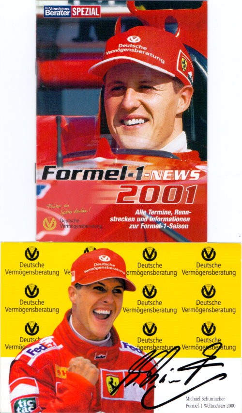 Michael Schumacher Konvolut