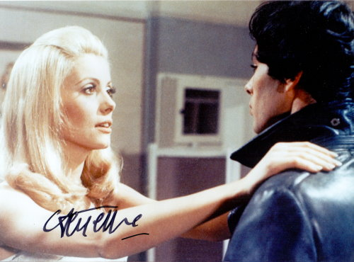 Catherine Deneuve Autogramm