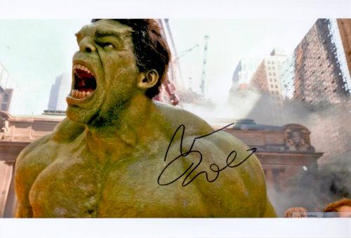 Mark Ruffalo Autogramm als Hulk
