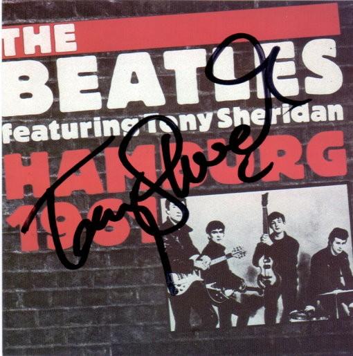 Tony Sheridan - signiertes CD-Cover