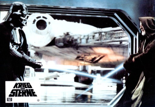 Star Wars - 4 Kino Aushangfotos/Lobbycards