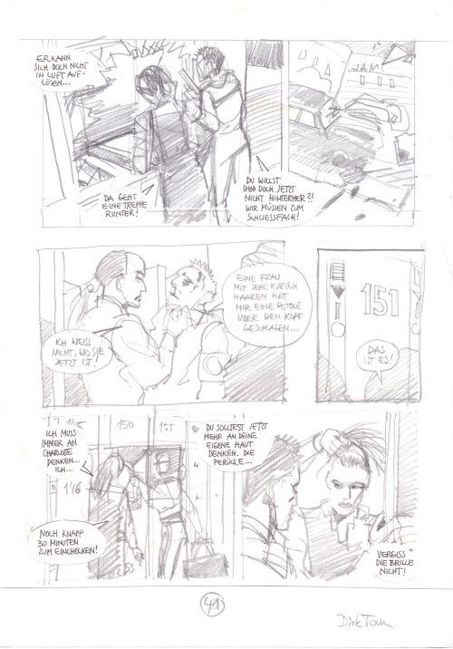 Original Comic-Art von Dirk Tonn