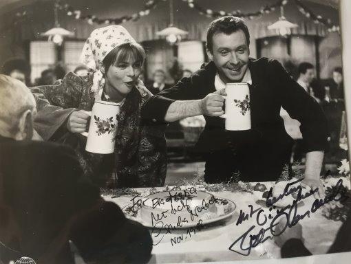 Peter Alexander & Conny Froboess Autogramm