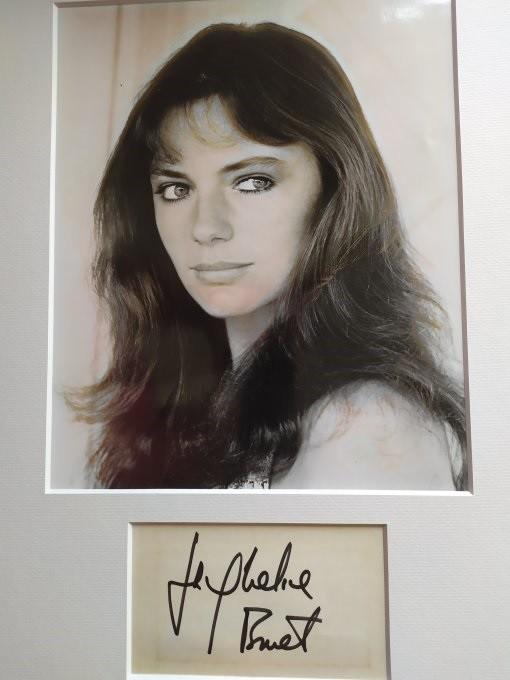 Jacqueline Bisset Autogramm