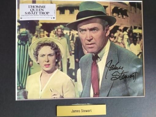 James Stewart Autogramm