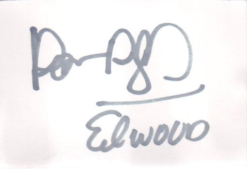 Dan Aykroyd Autogramm als Elwood aus BLUES BROTHERS
