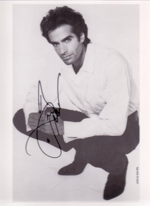 David Copperfield Autogramm