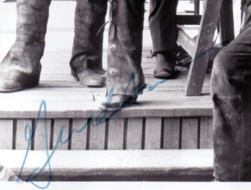 Gene Hackman Autogramm