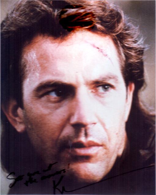 Kevin Costner Autogramm