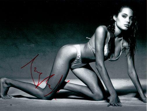 Angelina Jolie Autogramm