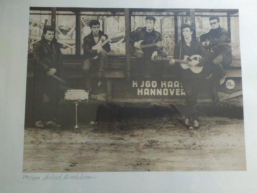 Astrid Kirchherr - The Beatles in Hamburg ArtPrint