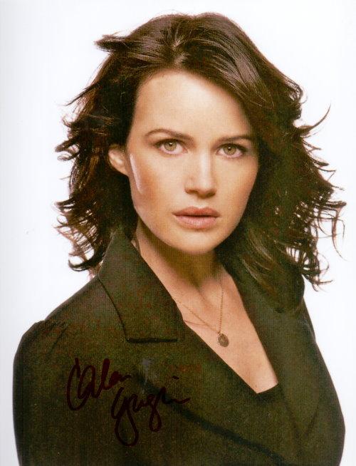 Carla Gugino Autogramm