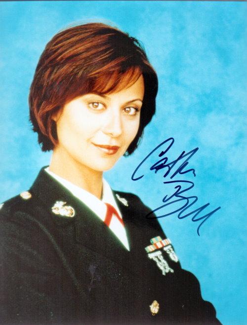 Catherine Bell Autogramm aus JAG