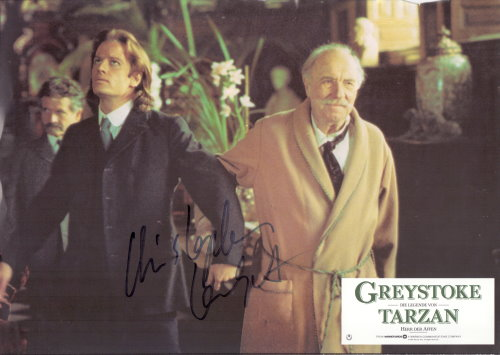 Christopher Lambert Autogramm als TARZAN aus GREYSTOKE