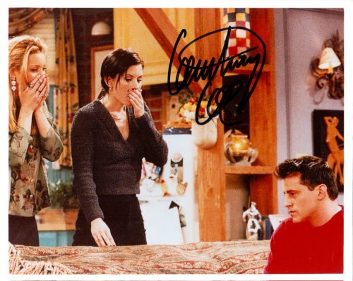 Courtney Cox Autogramm aus FRIENDS