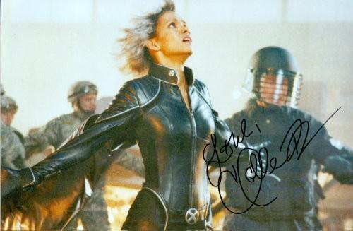 Halle Berry Autogramm aus X-MEN