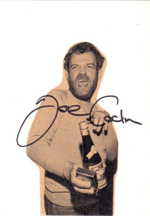 Joe Cocker Autogramm & Tourbook & Tourticket