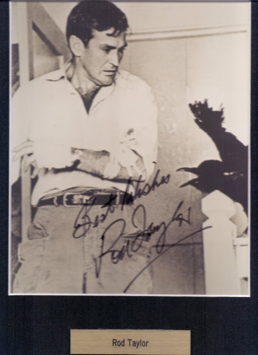 Rod Taylor Autogramm aus DIE VÖGEL / THE BIRDS