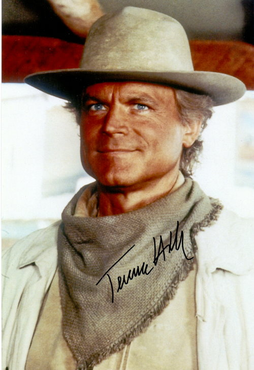 Terence Hill Autogramm