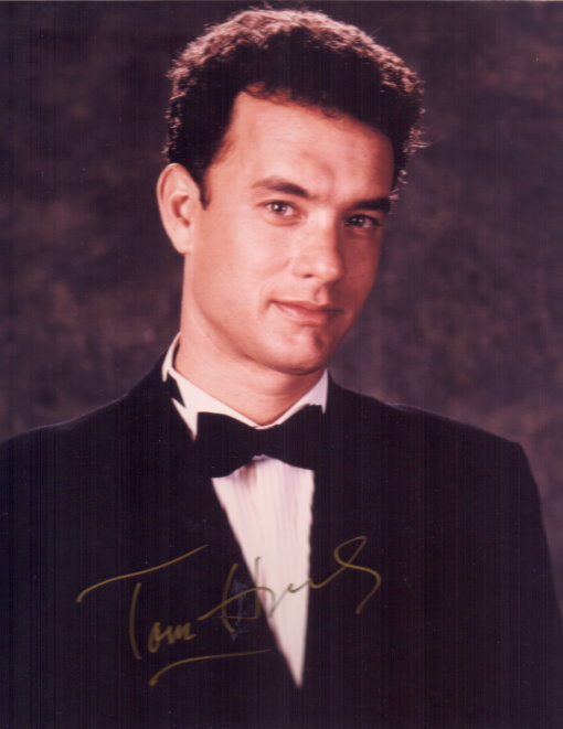 Tom Hanks Autogramm