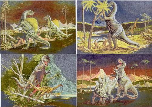 Klaus Dill - 14 Aluminium-Postkarten