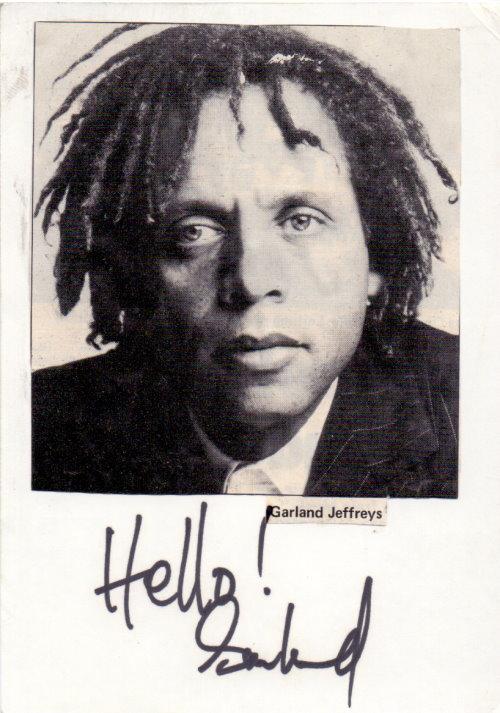 Garland Jeffreys Autogramm