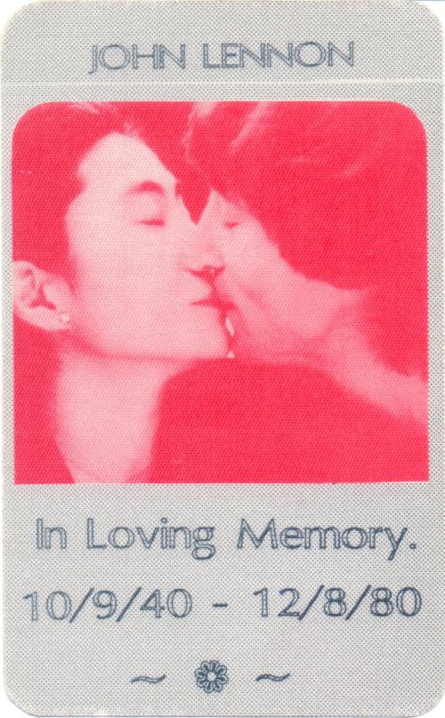 John Lennon In Loving Memory Sammelkarte