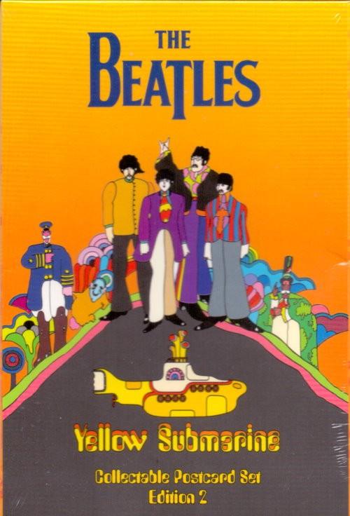The Beatles YELLOW SUBMARINE Postkartenset