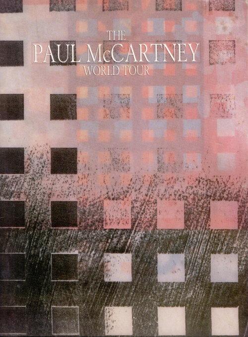 Paul McCartney - Original Tourbook der World Tour 1989