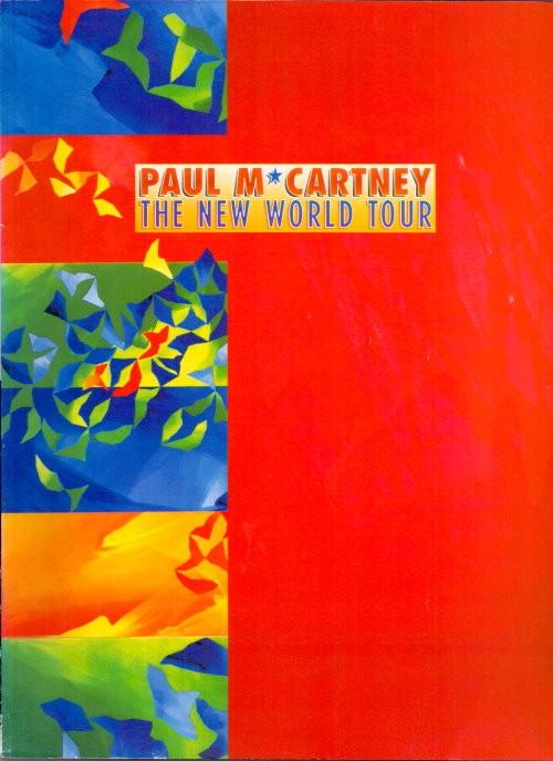 Paul McCartney - Original Tourbook der New World Tour 1993