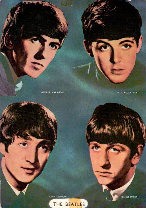 The Beatles original Fotokarte 60er Jahre