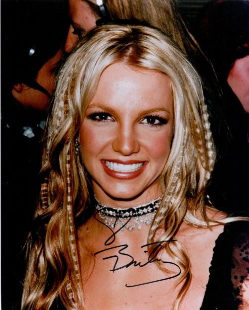 Britney Spears Autogramm