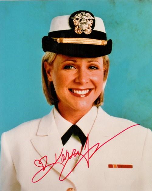 Karri Turner Autogramm aus JAG