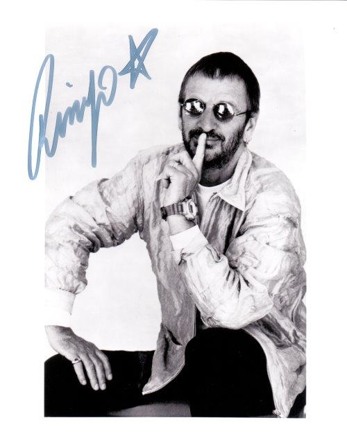 Ringo Starr Autogramm - Beatles