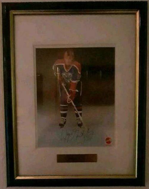 Wayne Gretzky Autogramm