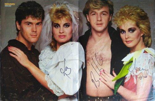 Bucks Fizz Autogramm