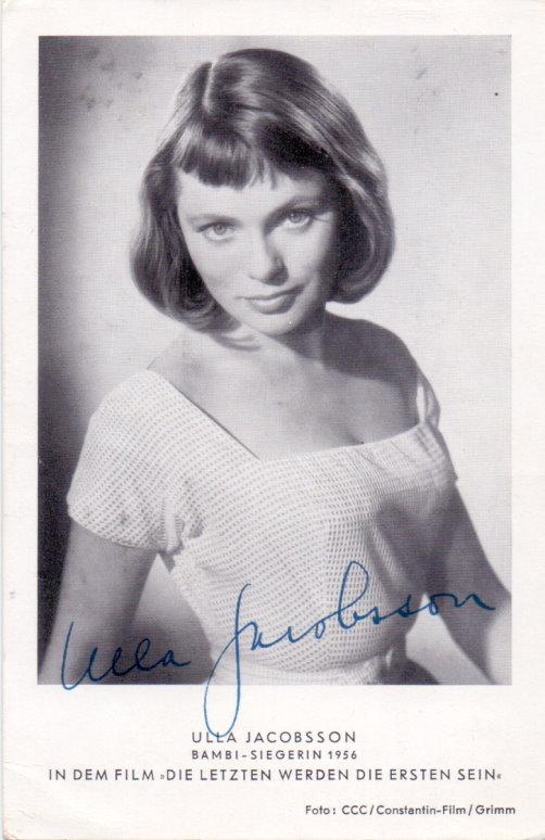 Ulla Jacobson Autogramm